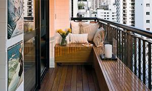高楼阳台装修如何设计?安全和防水最重要