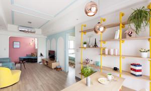 墙面颜色搭配看这里,让居家生活更亮丽!