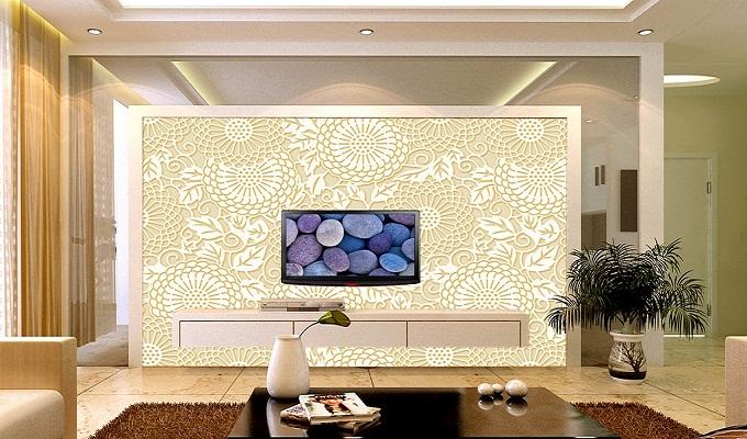 电视背景墙的各种材质以及搭配效果介绍