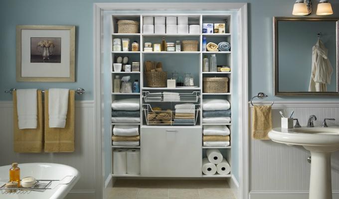 如何选到一款实用又不犯风水的卫生间收纳柜?