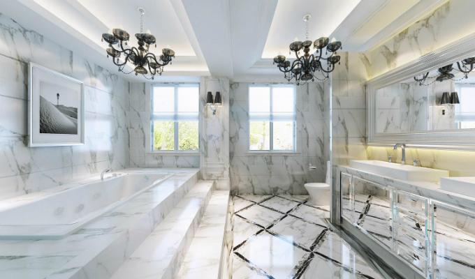 为什么卫生间地面要比居室的低,从风水角度来说说