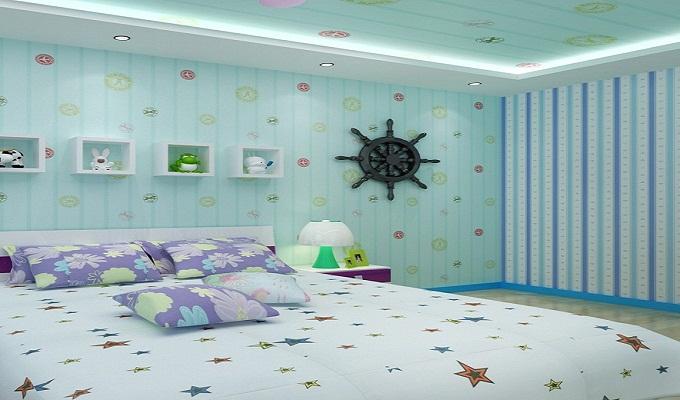 儿童房壁纸选择注意事项