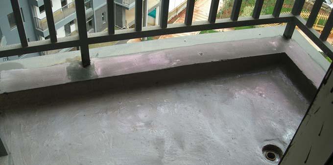 阳台防水很重要