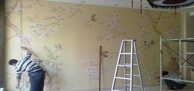 怎么环保贴壁纸