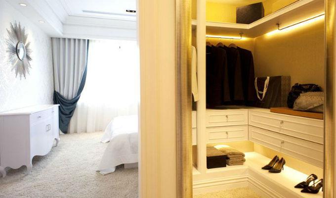 11个卧室衣帽间设计方案,等你来挑