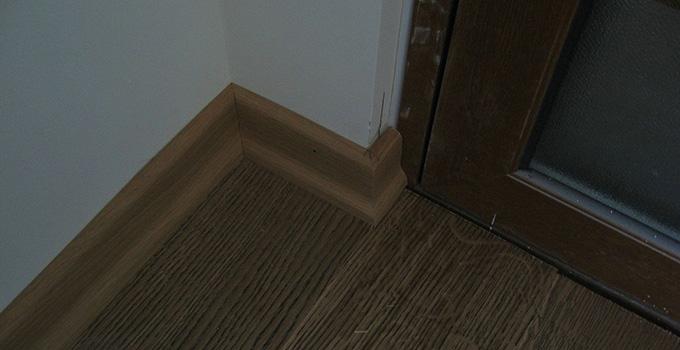 地板阴角线处理方法 简单又有效!