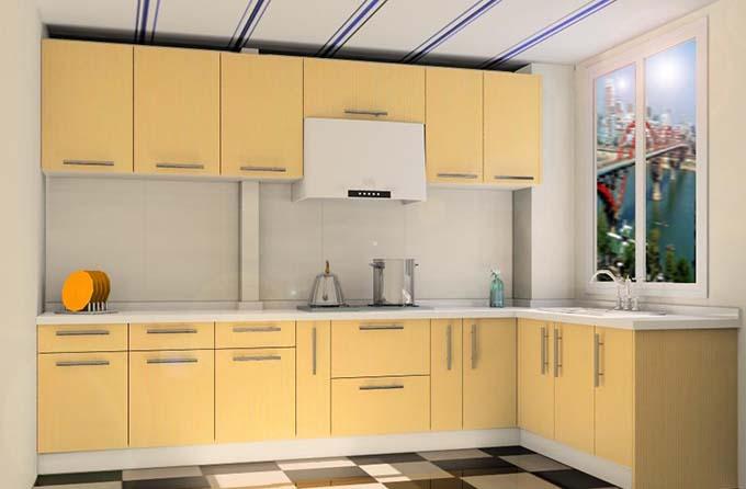 厨房厨柜颜色风水
