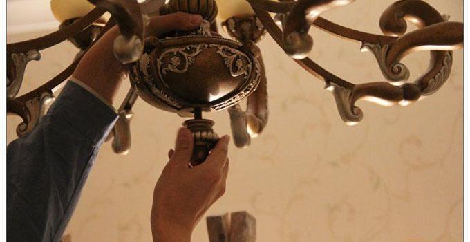 吊灯的安装方法和注意事项
