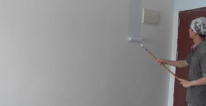 装修经验 油漆阶段 内墙乳胶漆施工工艺及注意事项     1,对涂料有