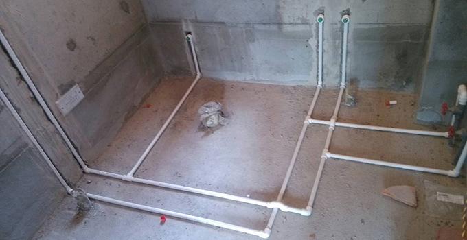 室内装修水管安装工艺介绍