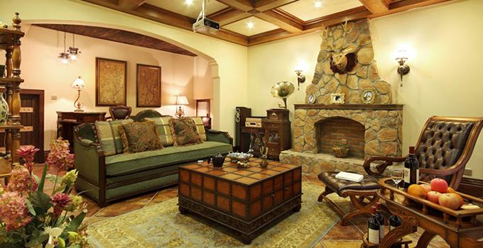 美式乡村风格装修设计中家具怎么选