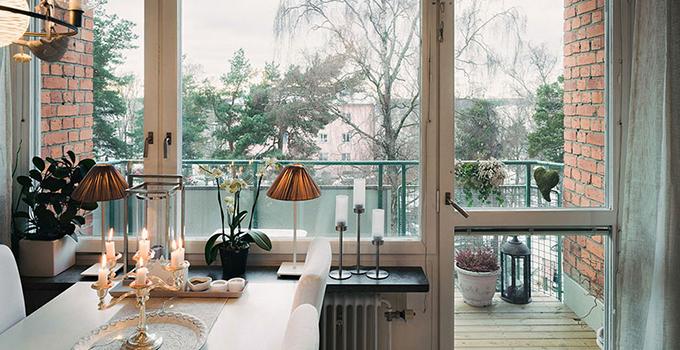 选择欧式阳台装修风格的一般都是大户型的阳台,既然阳台