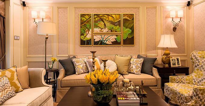适合追求欧式装修风格的浪漫以及优雅气质和生活的品