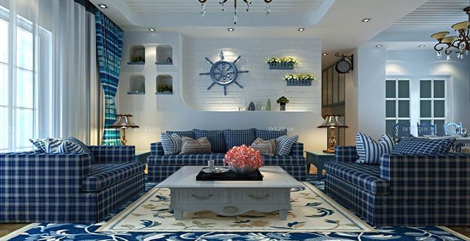 地中海风格装修瓷砖选择技巧