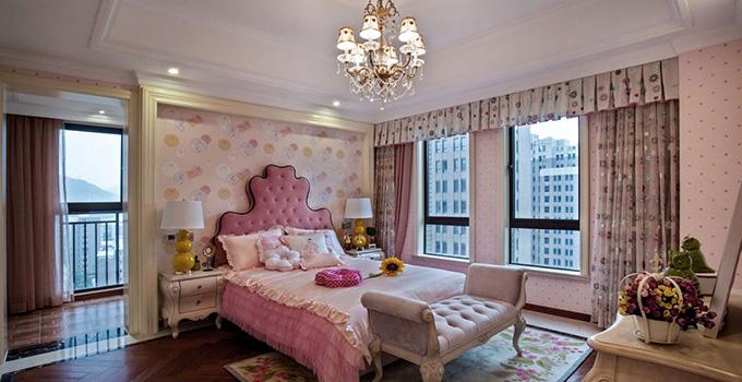 粉嫩女生卧室设计 2016年值得拥有