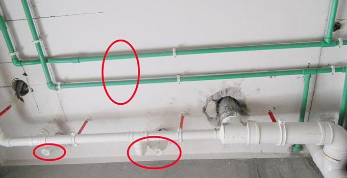 冷热水管安装规范,卫生间的冷热水管就该这样装