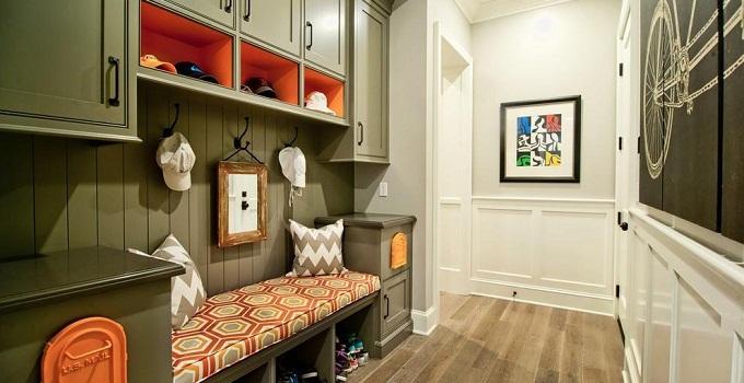 鞋柜的高度不宜超过房屋空间的三分之一
