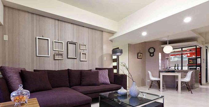 客厅地毯颜色搭配好 感受冬日里的温暖