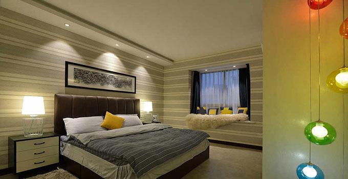 卧室床头墙纸要选对 让卧室变得不一样-兔狗装修经验