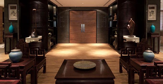 中式古典风格值得拥有     从室内空间结构来说,中式古典风格以木构架