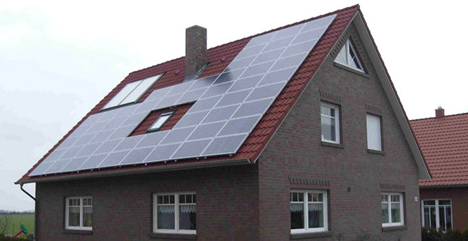 家用太阳能如何安装?