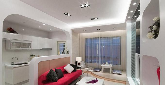 客厅吸顶灯安装小窍门