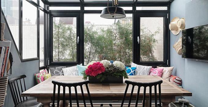 田园风格的阳台设计  回归自然有技巧