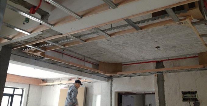 木工阶段 轻钢龙骨吊顶施工详细解读