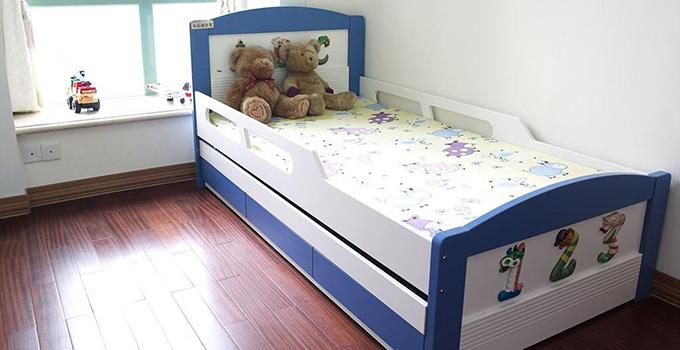 木工装修床效果图