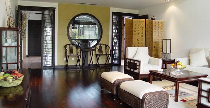 家庭装修设计之中式屏风设计