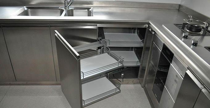 全不锈钢橱柜优点解析,有没有心动呢?