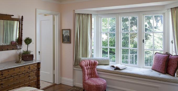 飘窗窗帘安装方法