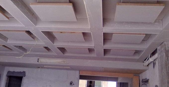 藻井吊顶的施工工艺流程