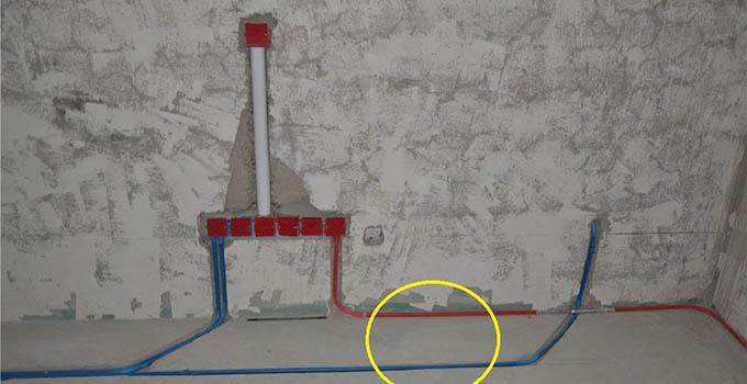 电线电路布线:家庭水电安装用材要求是2