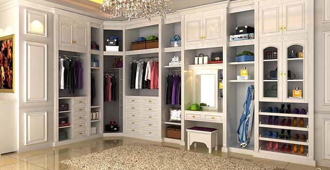 衣柜的保养技巧 开放式衣柜图片