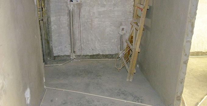 毛坯房装修水电布局5,电线线路开槽