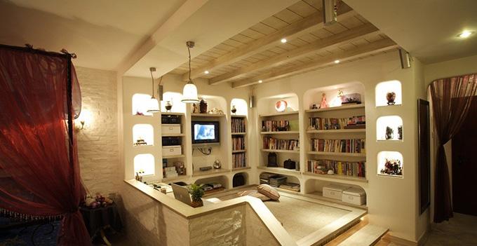 小户型书房设计三:小户型书房在防噪音方面应该
