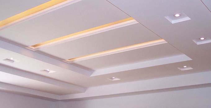 客厅家装石膏吊顶造型设计技巧