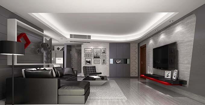 七种常见家装石膏吊顶造型设计方法图片