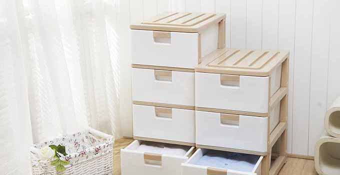 抽屉式收纳柜安装方法及尺寸介绍