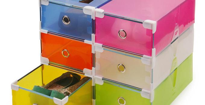 鞋盒做收纳盒 让家居空间舒适