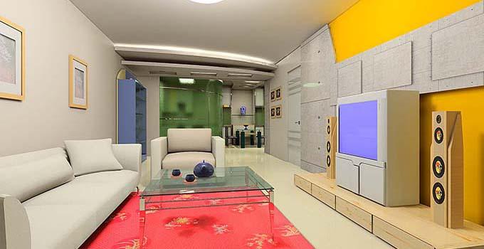 红色和黄色都是亮色系,这两种颜色可以成为客厅装修的主要颜色吗?其实完全没有问题。亮色系代表了热情,因而也很适合在客厅装修中使用。红黄两色到底应该怎么去运用呢?一般来讲是窗帘、家具以及家具饰品使用这两种颜色。