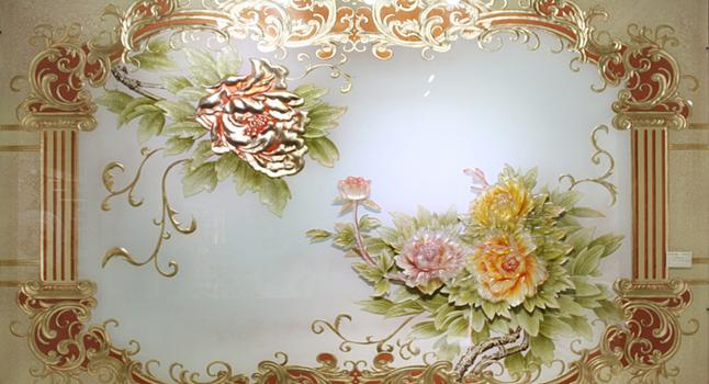 巧用艺术玻璃瓷砖 您就是家装毕加索