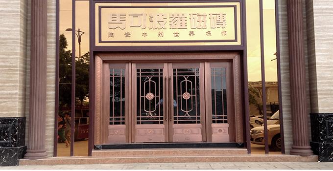 这几个家居铜门保养小妙招你知道吗?