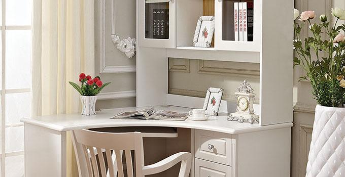 书柜电脑桌,小户型设计这么搭配真的好好看!