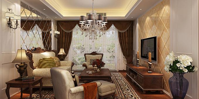 欧式客厅窗帘颜色搭配及清洁小妙招-兔狗装修经验