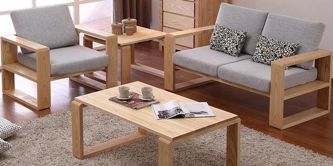 实木布艺沙发如何搭配你的客厅风格?