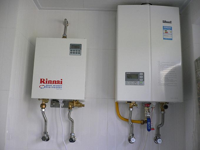 自己也能动手做林内燃气热水器安装,一学就会!