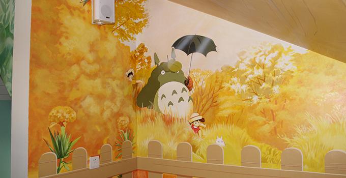 手绘涂鸦墙素材,快看看你家的客厅房间有没有可以参考的