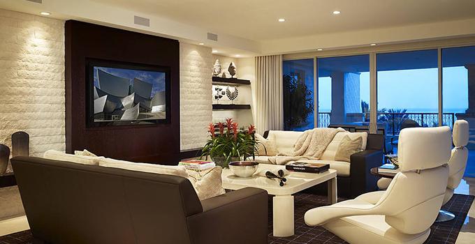 客厅电视墙装修设计有哪些需要我们注意的要点?